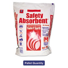 All-Purpose Clay Absorbent, 50lb, Poly-Bag, 40/Pallet