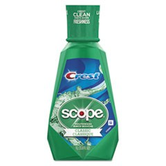 1+ Scope Mouth Rinse, Classic Mint, 1 L Bottle