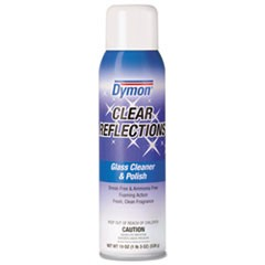 Clear Reflections Mirror and Glass Cleaner, 20 oz, Aerosol, 12/Carton