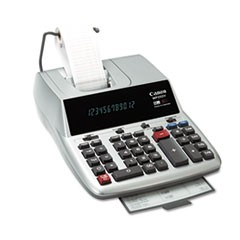 MP25DV 12-Digit Ribbon Printing Calculator, Black/Red Print, 4.3 Lines/Sec