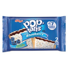 Pop Tarts, Frosted Blueberry, 3.67oz, 2/Pack, 6 Packs/Box