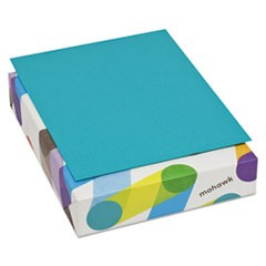 BriteHue Multipurpose Colored Paper, 24lb, 8 1/2 x 11, Sea Blue, 500 Sheets