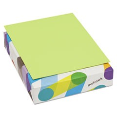 BriteHue Multipurpose Colored Paper, 20lb, 8 1/2 x 11, Ultra Lime, 500 Sheets