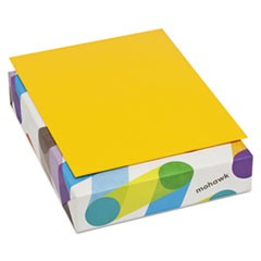 BriteHue Multipurpose Colored Paper, 24lb, 8 1/2 x 11, Gold, 500 Sheets