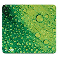 Naturesmart Mouse Pad, Leaf Raindrop, 8 1/2 x 8 x 1/10
