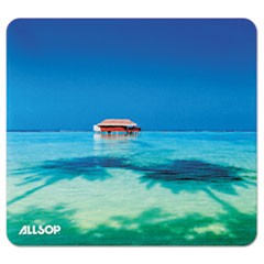 Naturesmart Mouse Pad, Tropical Maldives, 8 1/2 x 8 x 1/10