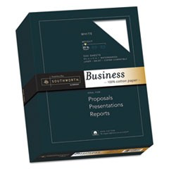 100% Cotton Business Paper, 20lb, 95 Bright, 8 1/2 x 11, 500 Sheets