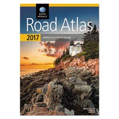 Road Atlas, North America+Puerto Rico, Soft Cover, 2017