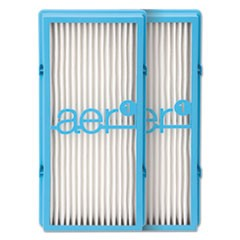 aer1 HEPA Type Total Air with Dust Elimination Replacement Filter, 2/Each