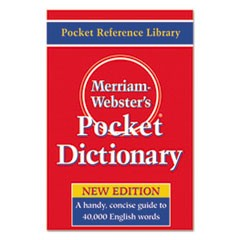 Pocket Dictionary, Paperback, 416 Pages