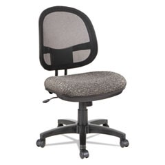Alera Interval Series Swivel/Tilt Mesh Chair, Supports up to 275 lbs., Graphite Gray Seat/Graphite Gray Back, Black Base