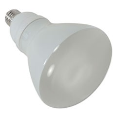 CFL Reflector Bulb, 15 Watts, 2/Pack