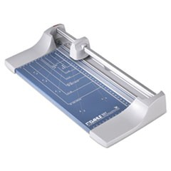 "1Rolling/Rotary Paper Trimmer/Cutter, 7 Sheets, 12"" Cut Length"