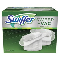 Sweeper Vac Replacement Filter, OEM, 2 Filters/Pack, 8 Packs/Carton