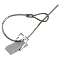 Desk Mount Cable Anchor, Gray/White