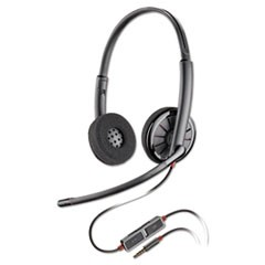 Blackwire C225 Binaural Over-the-Head Headset
