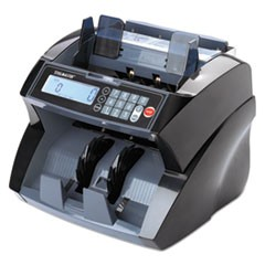 14850 Bill Counter with Counterfeit Detection, 1900 Bills/Min, Black