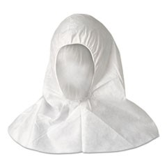 A20 Breathable Particle Protection Hood, White, One Size Fits All, 100/Ctn