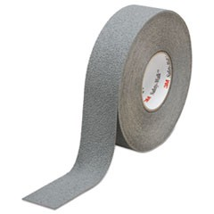 Safety-Walk Slip-Resistant Medium Resilient Tread Rolls, Gray, 2w x 60ft., 2/CT