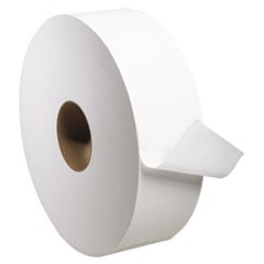 "Universal Jumbo Bath Tissue, 2-Ply, White, 3 3/5"" x 2000ft, 11 4/5"" Dia, 6/CT"