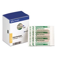 "SmartCompliance Patch Bandages, 1 1/2"" x 1 1/2"", 10/Box"