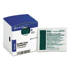 1SmartCompliance Castile Soap Towelettes, 10/Box