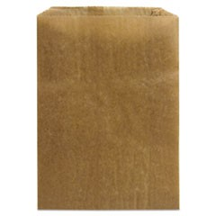 Napkin Receptacle Liner, Kraft Waxed Paper, 500/Carton