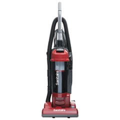 FORCE Upright Vacuum with Dust Cup, Sealed HEPA, 17 lb, 3.5 qt, Red