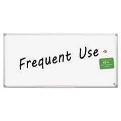 1Earth Gold Ultra Magnetic Dry Erase Boards, 48 x 96, White, Aluminum Frame