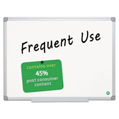 1Earth Gold Ultra Magnetic Dry Erase Boards, 24 x 36, White, Aluminum Frame