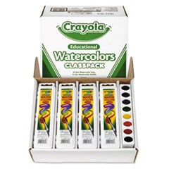 Watercolor Set, 8 Assorted Colors/Set, 36 Sets/Box