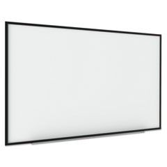 1Interactive Magnetic Dry Erase Board, 70 x 52 x 1 1/4, White/Black Frame