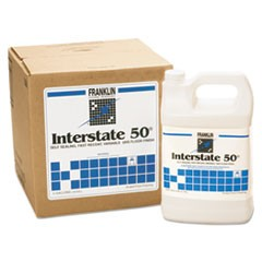 Interstate 50 Floor Finish, 1gal Bottle, 4/Carton