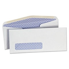 Business Envelope, #10, Commercial Flap, Gummed Closure, 4.13 x 9.5, White, 500/Box