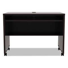 Alera Valencia Series Mobile Workstation Desk, 41.38w x 23.63d x 30h, Espresso