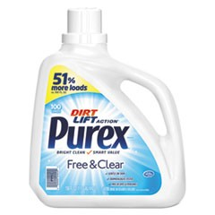Free and Clear Liquid Laundry Detergent, Unscented, 150 oz Bottle
