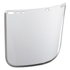 "F30 Face Shield Window, 12"" x 8"", Clear, Unbound"