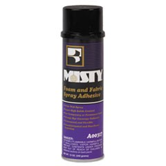 Foam and Fabric Spray Adhesive, 12 oz Aerosol, 12/Carton
