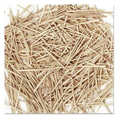 "Creativity Street Natural Toothpicks, Flat, 2.25"", 2500 Count"