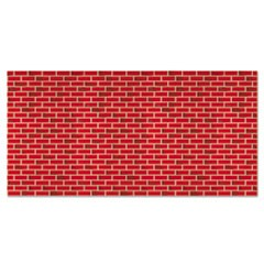 "Fadeless Designs Bulletin Board Paper, Brick, 48"" x 50 ft."