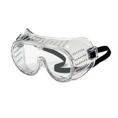 Safety Goggles, Over Glasses, Clear Lens