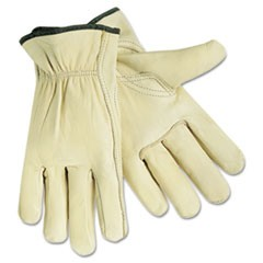 Full Leather Cow Grain Gloves, Extra Large, 1 Pair
