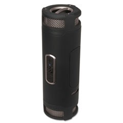 boomBOTTLE+ Rugged Waterproof Wireless Portable Speaker, Black/Gray