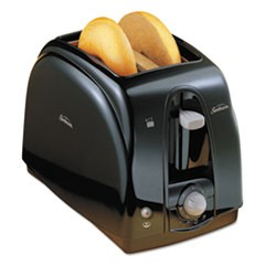 1Extra Wide Slot Toaster, 2-Slice, 7 x 11 1/2 x 7.8, Black