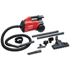 1EXTEND Canister Vacuum, 10 lb, Red