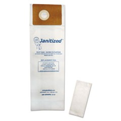 Vacuum Filter Bags Designed to Fit Advance Spectrum CarpetMaster, 100/Carton