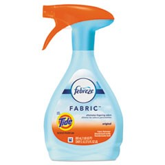 FABRIC Refresher/Odor Eliminator, Tide Original, 27 oz Spray Bottle, 4/Carton