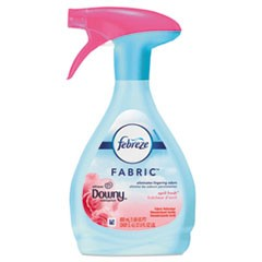 FABRIC Refresher/Odor Eliminator, Downy April Fresh, 27 oz Spray Bottle, 4/Carton