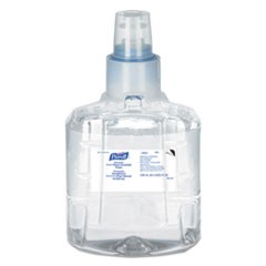 Advanced Hand Sanitizer Foam, LTX-12 1200 mL Refill, Clear, 2/Carton