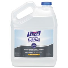 Professional Surface Disinfectant, Fresh Citrus, 1 gal Bottle, 4/Carton